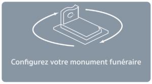 configurez votre monument funéraire GPG